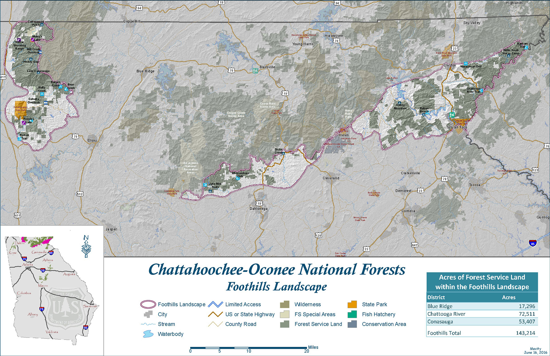 Springer Mountain Loop Hiking The Appalachian Trail BMT InciWeb - Us forest service ecoregion map